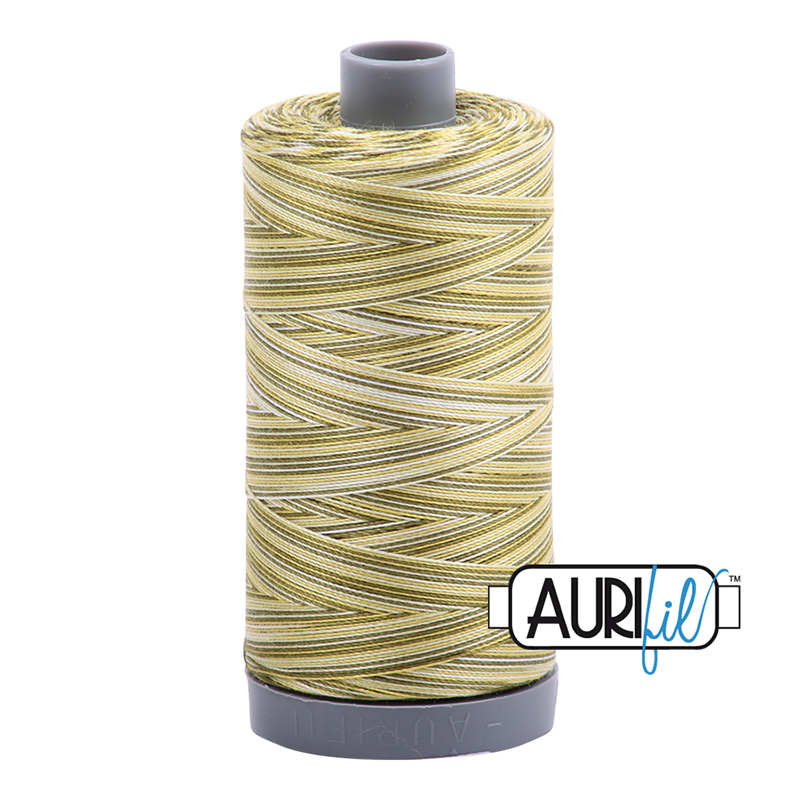 Cotton Mako Thread 28wt MK28 4653 Aurifil - Spring Prairie