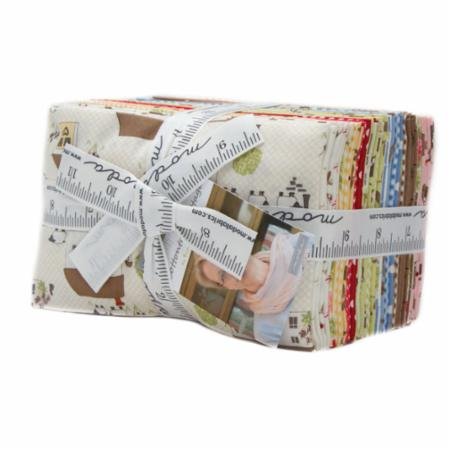 Moda Fat Eighth Bundle - Cottontail Cottage by Bunny Hill Designs