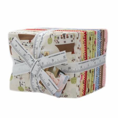 Moda Fat Quarter Bundle - Cottontail Cottage by Bunny Hill Designs
