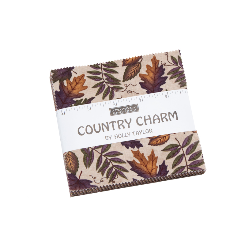 Moda Charm Pack - Country Charm by Holly Taylor