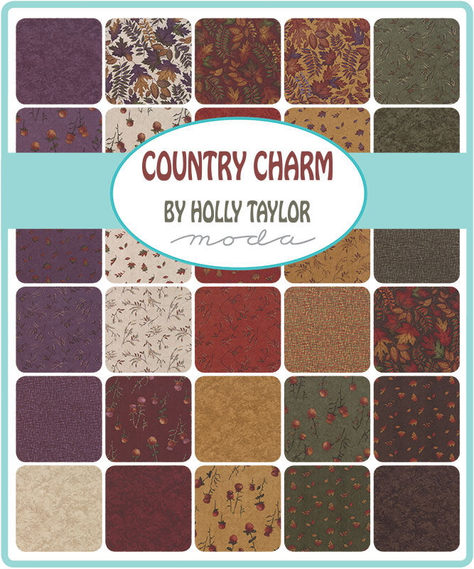 Oct/19 - Country Charm Charm Pack