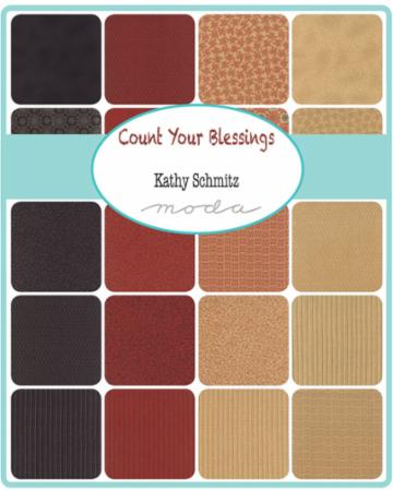 Moda Layer Cake - Count Your Blessings by Kathy Schmitz