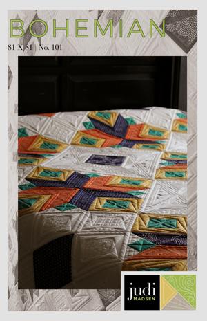 Bohemian Quilt Pattern PDF Version