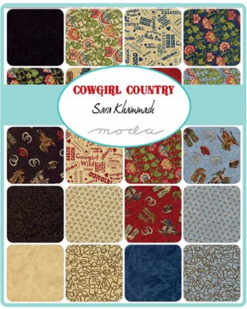 Moda Charm Pack - Cowgirl Country by Sara Khammash