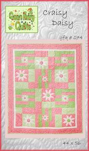 Craisy Daisy Quilt Pattern