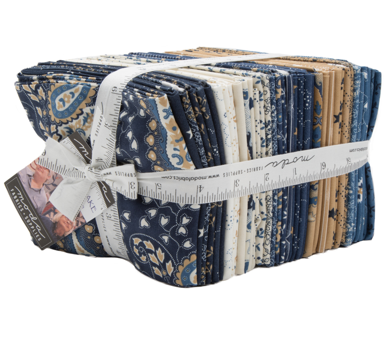 Moda Fat Quarter Bundle - Crystal Lake by Minick & Simpson