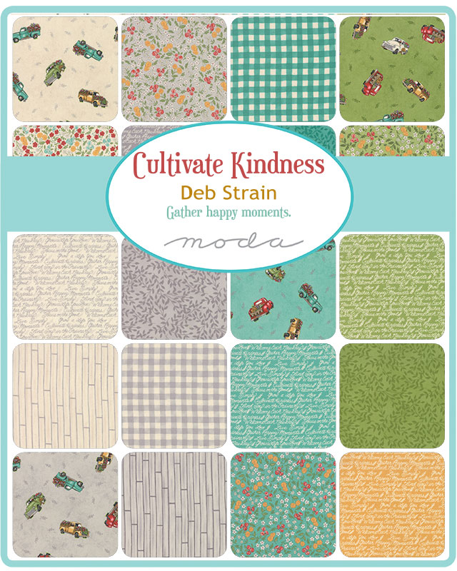 Moda Fat Quarter Bundle - Cultivate Kindness by Deb Strain