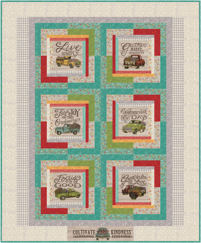 Moda Quilt Kit - Cultivate Kindness by Deb Strain