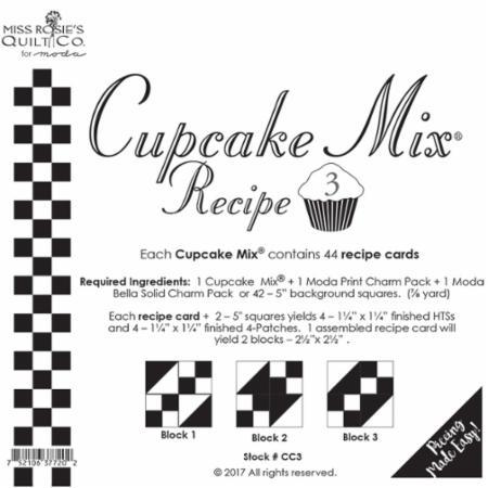 Cupcake Recipe Number 3
