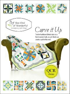 Curve It Up Block Of The Month Quilt Pattern by Jenny Pedigo