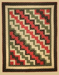 Dancing Diagonals Quilt Pattern