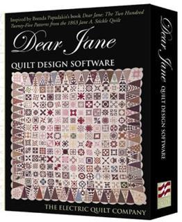 Dear Jane Electric Quilt Design Software
