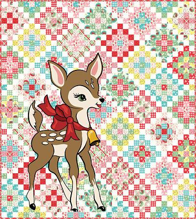 June/20 - Deer Christmas Quilt Kit