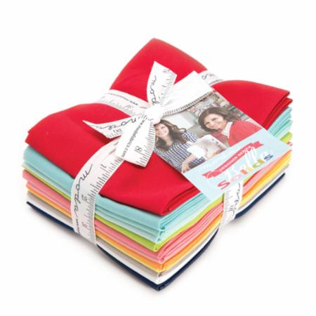 Moda Fat Quarter Bundle - Bella Solids Bonnie & Camille Selects