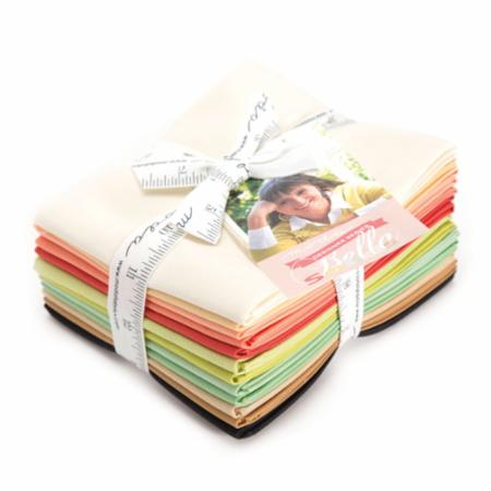 Moda Fat Quarter Bundle - Bella Solids Fig Tree & Co Selects