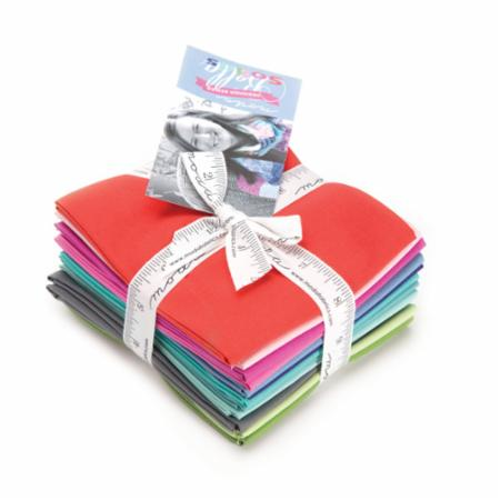Moda Fat Quarter Bundle - Bella Solids Kate Spain Selects