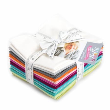 Moda Fat Quarter Bundle - Bella Solids Zen Chic Selects
