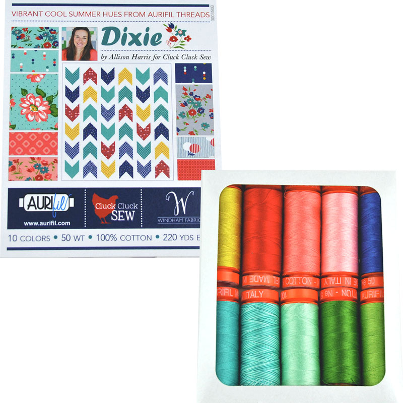 Dixie By Alison Harris Aurifil Small Spools