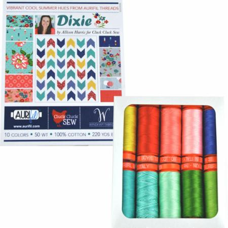 Dixie Collection By Alison Harris Small Spools Aurifil 50wt