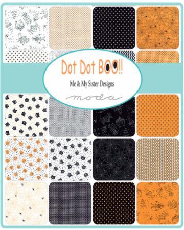 July/18 - Dot Dot Boo Charm Pack