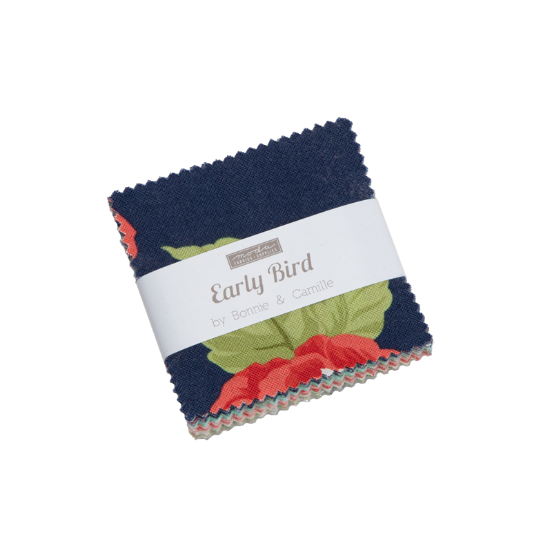 Moda Mini Charm - Early Bird by Bonnie & Camille