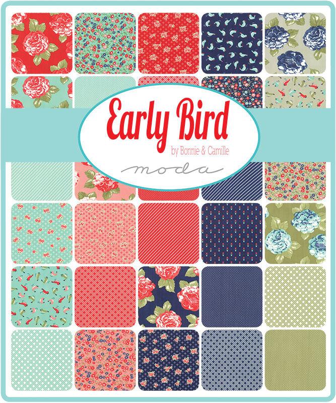 Oct/19 - Early Bird Charm Pack