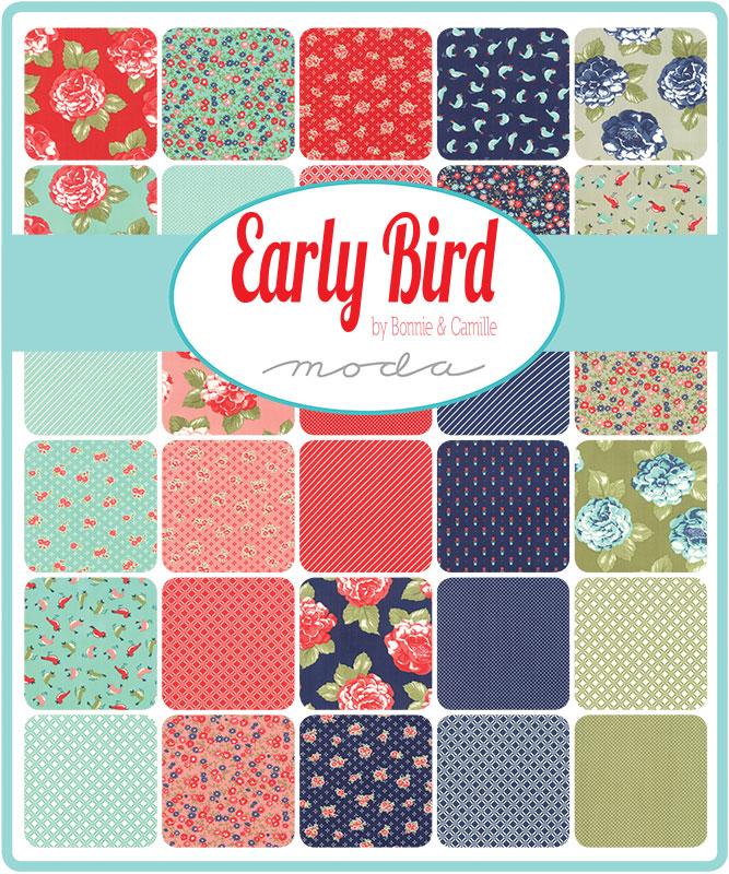 Moda Fat Quarter Bundle - Early Bird by Bonnie & Camille