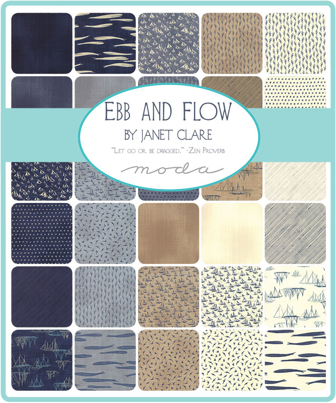 Moda Jelly Roll - Ebb & Flow by Janet Clare