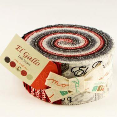 Moda Jelly Roll - El Gallo by Deb Strain