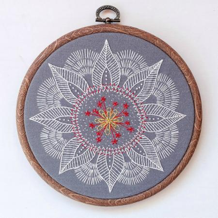 Embroidery Kit Autumn Mandala