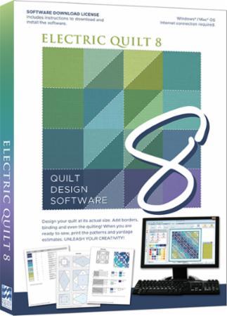 Electric Quilt 8 Quilt Design