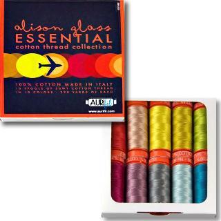 Essential 50wt Aurifil 10 Spools