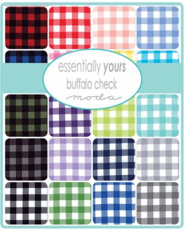 Moda Fat Quarter Bundle - Buffalo Check Essentially Yours by Moda