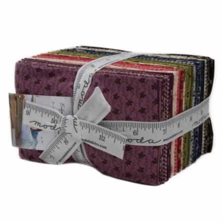 Moda Fat Eighth Bundle - Evelyn's Homestead by Betsy Chutchian