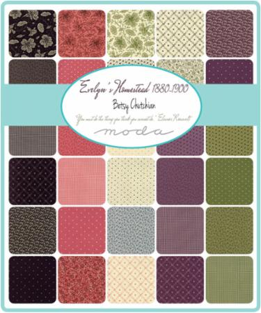 Moda Jelly Roll - Evelyn's Homestead by Betsy Chutchian