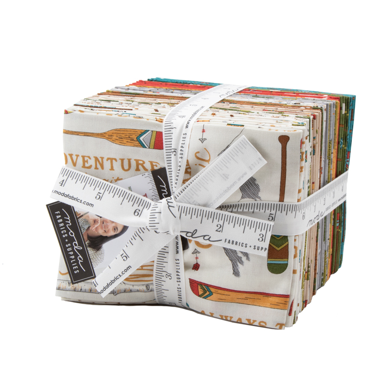 Moda Fat Quarter Bundle - Explore by Deb Strain