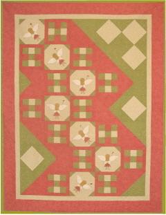 Flight of a Fairy Quilt Pattern