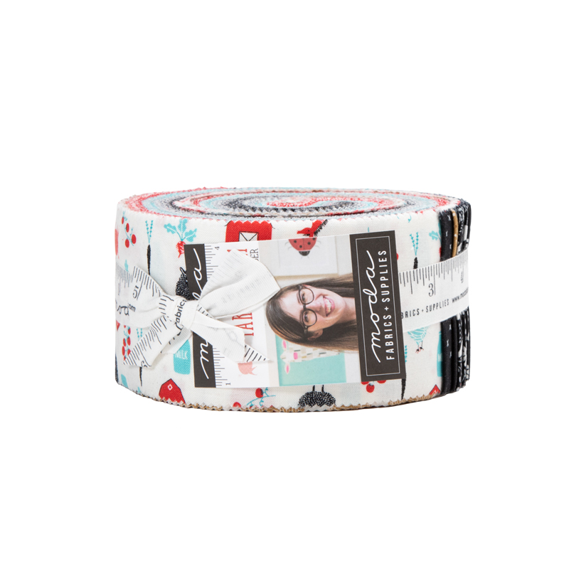 Moda Jelly Roll - Farm Charm by Gingiber