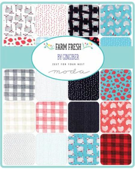 Moda Charm Pack - Farm Fresh by Gingiber