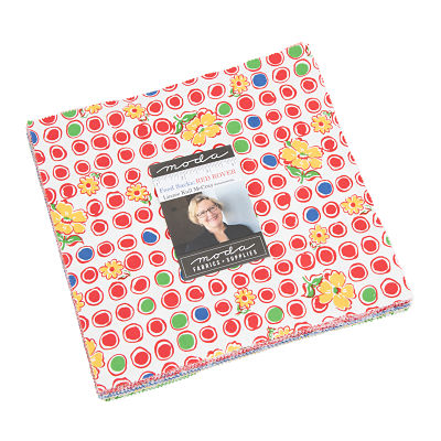 Moda Layer Cake - Feed Sacks Red Rover by Linzee Kull McCray
