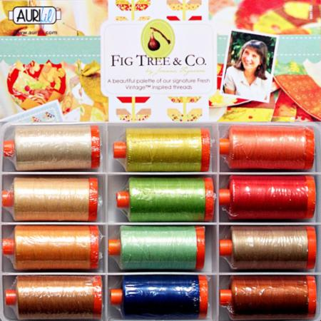 Fig Tree Quilts Figueroa 50wt JF50FT12 Aurifil