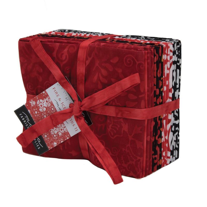 Moda Fat Quarter Bundle - Fire & Ice Batiks II by Moda