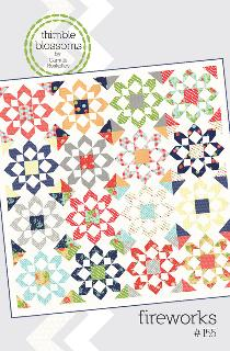 Fireworks Quilt Pattern by Camille Roskelley