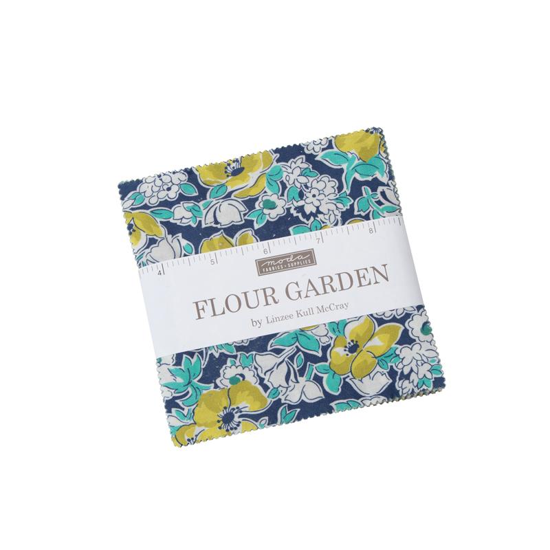 Moda Charm Pack - Flour Garden by Linzee Kull McCray