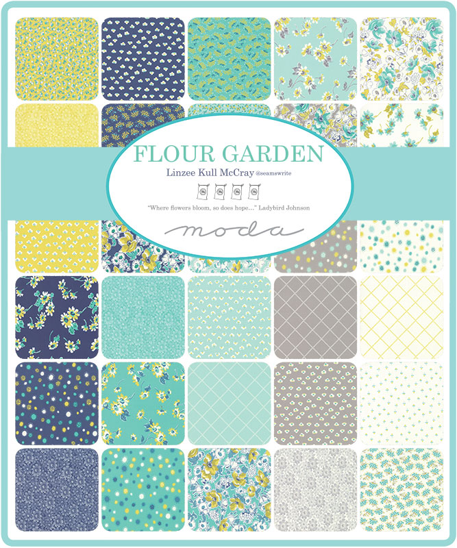 Dec/19 - Flour Garden Charm Pack