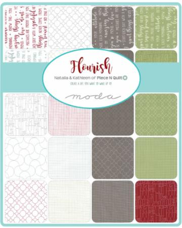 Moda Fat Quarter Bundle - Flourish by Natalia & Kathleen