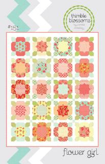 Flower Girl Quilt Pattern by Camille Roskelley