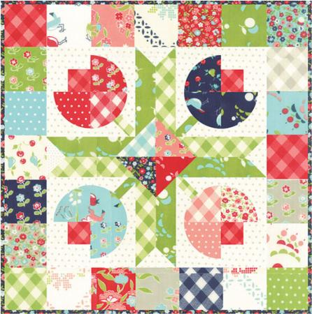 Flower Patch Mini Pattern by Camille Roskelley