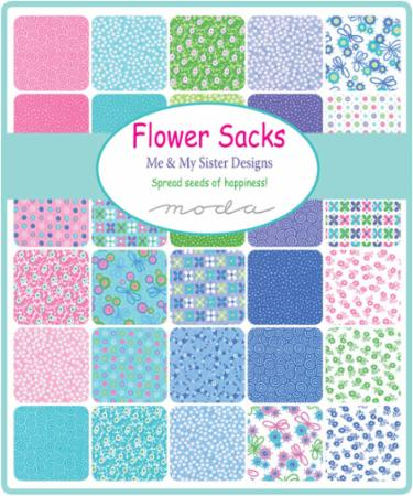 Feb/19 - Flower Sacks Charm Pack