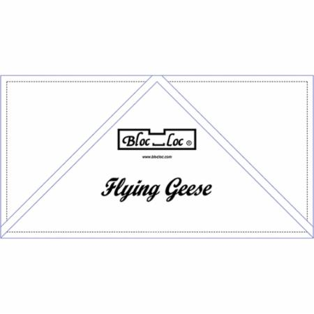 Flying Geese Ruler 4 x 8 Inch